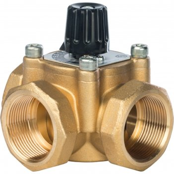 Клапан смесительный stout svm-0003-014001, трех ходовой, 1 1/2 kvs 26