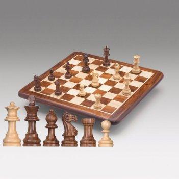 G10200 шахматная доска, палисандр, 38x38см