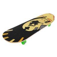 Скейтборд нв-080, размер 82x21 см, колеса pvc d= 50 мм