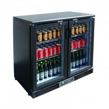 Холодильный шкаф gastrorag sc248g.a, витринного типа, +2 до +8°с, 202 л, ч