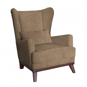 Кресло оскар, велюр кофе