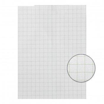 Канва для вышивания gamma  aida №14, 30х40 см , цвет белый в клетку, хлопо