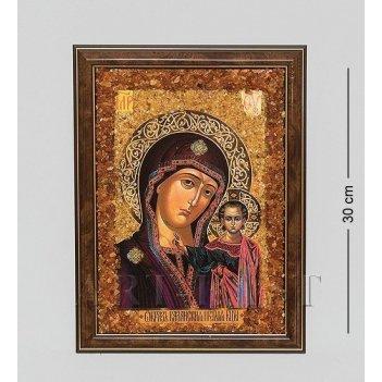 21*30см картина с пластик. рамкой икона в асс.