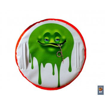 Ледянка «монстрик» с трубочкой зеленый» 60 см.