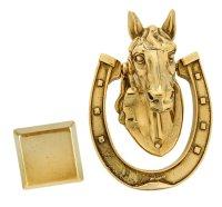 Молоток дверной конь