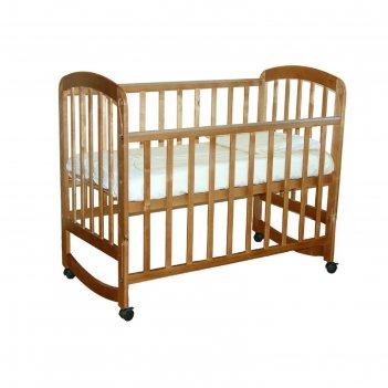 Кроватка детская «фея 304» мёдовая