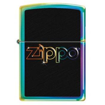 Зажигалка zippo, латунь с покрытием spectrum™, разноцветная, лицевая сторо
