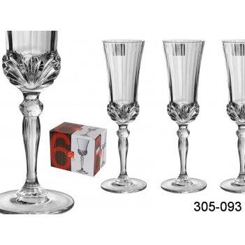 Набор бокалов для шампанского из 6 шт.аурея 140 ...