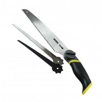 Ножовка по дереву stanley 0-20-092, 250 мм, универсальная, 3 в 1