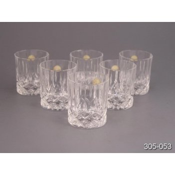 Набор стаканов для виски из 6шт опера 300 мл.