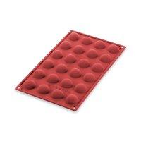 Форма для приготовления пирожных semisfera, размер: 23 х 17,5 см, материал