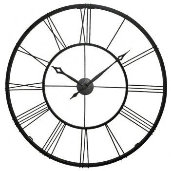 Настенные часы династия 07-001 гигант черный
