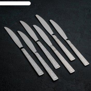 Набор ножей столовых «кроян», h=23,5 см, 6 шт