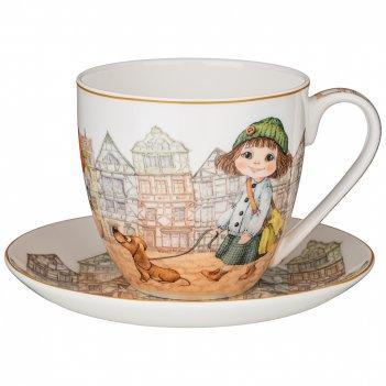 Чайная пара lefard fashion princess 430 мл (кор=24наб.)