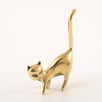 Подставка для колец кот высота=9 см.
