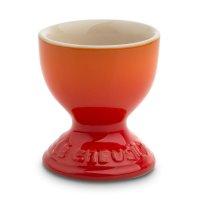 Подставка для яиц, высота: 5,9 см, материал: керамика, цвет: оранжевый, le