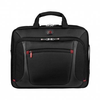 Портфель для ноутбука 15'' wenger, черный, полиэстер/пвх, 40 x 1