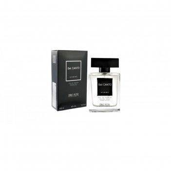 Парфюмированная вода мужская carlo bossi bel canto black, 100 мл
