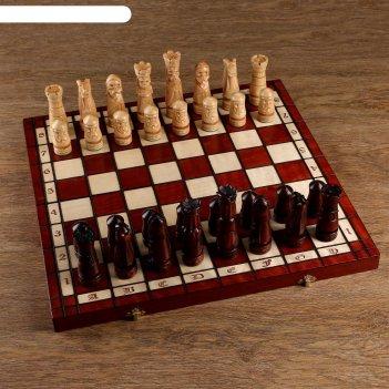 Шахматы ручной работы, 49х49 см, король h=12,5 см пешка h- 6,5см