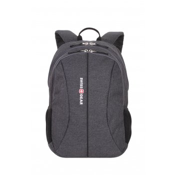 Рюкзак swissgear 13'', cерый, ткань grey heather/ полиэстер 600d