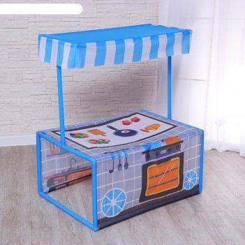 Детский игровой тент кухня 60х80х99 см