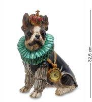 Ns-175 статуэтка с часами собака элизабет