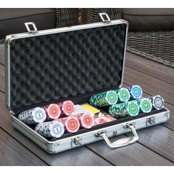 Набор для покера russian pro на 300 шт (шелкография) 12гр