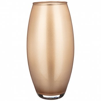 Ваза  amarillys sparkle oro  высота 26см