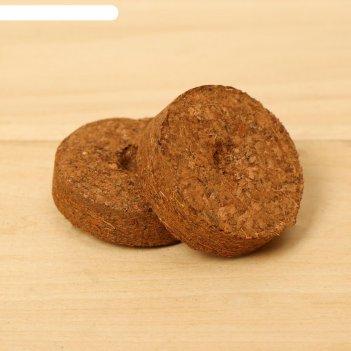 Таблетки кокосовые d=35 мм, (набор 10 шт), greengo