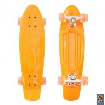 146315 скейтборд classic 26″ 67х18 ywhj-28 пластик со све