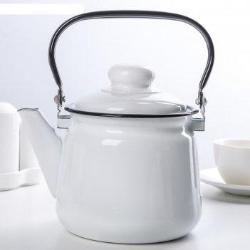 Чайник эмалированный 1,5 л комфорт