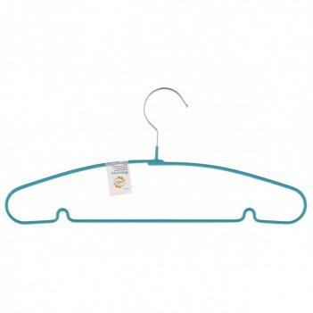 Вешалка для легкой одежды с прорезиненным противоскользящим покрытием 40 с