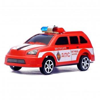 Машина инерционная дпс полиция, цвета микс