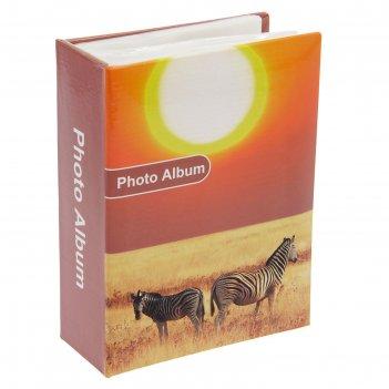 Фотоальбом на 96 фото 10х15 см африка 16,5х12,5х5,5 см