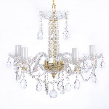 Люстра royal bohemia 5 свечей
