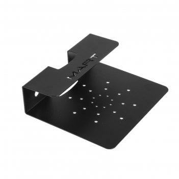 Кронштейн mart s2, для аудио-видео аппаратуры, до 10 кг, 170х150 мм, черны