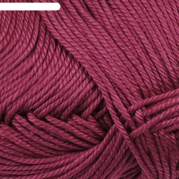Нитки вязальные лотос 250м/100гр  100% мерсеризованный хлопок цвет 1410