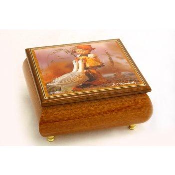 Музыкальная шкатулка маленькая пастушка