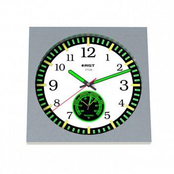 Настенные часы - метеостанция rst 77729