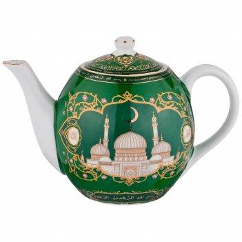 Заварочный чайник 99 имён аллаха, 1000 мл.