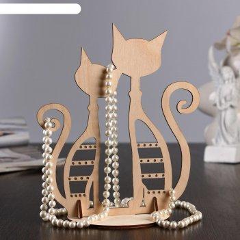 Подставка для украшений котики, 23x16x0,3 см