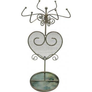 """Подставка для украшений  jardin dete  """"акварель"""", сталь, стекло,"""