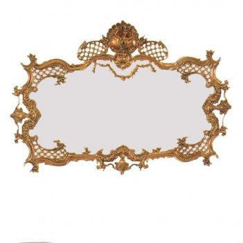 Зеркало в раме дон луиш из бронзы настенное