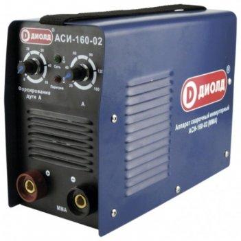 Сварочный аппарат диолд аси-160-02, инверторный, 6.1квт, 160а, 1.6-4 мм