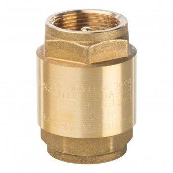 Обратный клапан stout, 11/4, пружинный, муфтовый, с металлическим седлом,