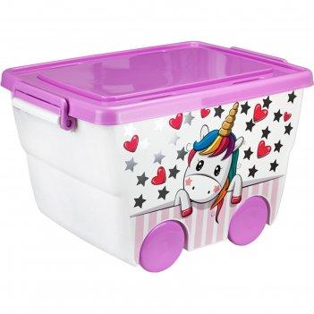 Ящик для игрушек единорог деко, 23 л. м 2550