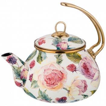 Чайник эмалированный, 2,2л (кор=4шт.)