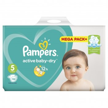 Подгузники pampers active baby junior (11-18 кг), 111 шт
