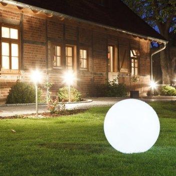 Садовый уличный светильник illuminated ball 50, уличное оборудование