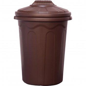 Бочка-бак хозяйственный 120л. коричневый